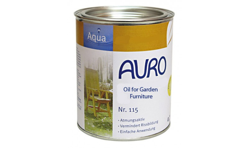 AURO 115 Oil Garden Furniture Tester Pot