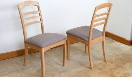 Oak Albury Slatted Chair