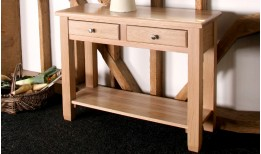 Oak Pelham Console Table