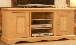 Oak Pelham TV Unit