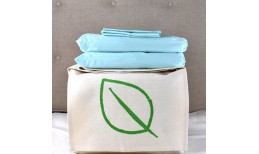 Aquamarine Organic Cotton Bedding Set