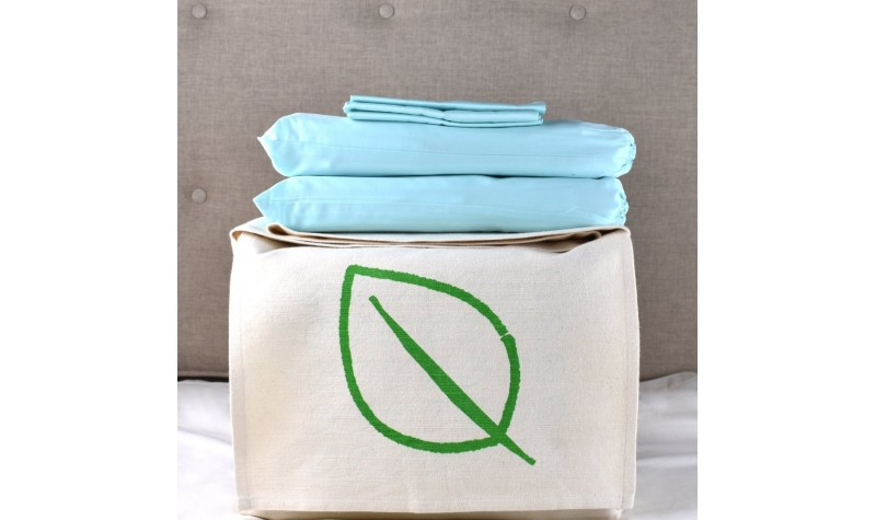 Aquamarine Organic Cotton Bedding Set
