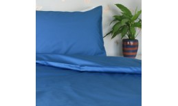 Ocean Blue Organic Cotton Bedding Set