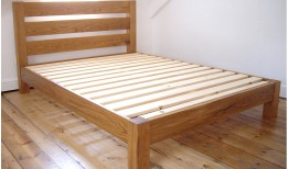 Oak Blaise Bed (King size)