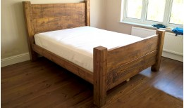 Plank Gate Beam Bed