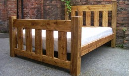 Plank Gate Bed