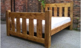 Plank Gate Slatted Bed