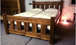 Reclaimed Stockhill Slatted Bed