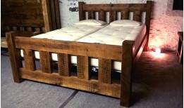 Reclaimed Stockhill Slatted Bed