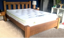 Plank Panel Slatted Bed