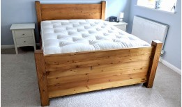 Reclaimed Stockhill Panel Bed