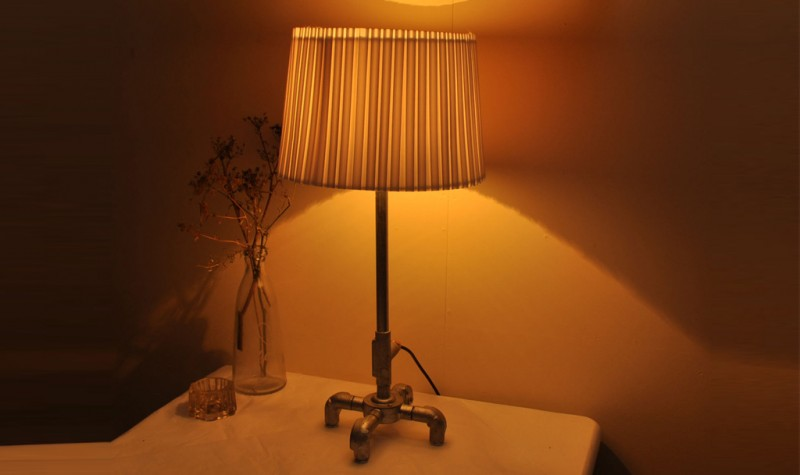 Pipe Table Lamp (Tall)