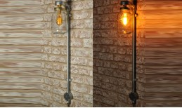 Kilner Wall Lamp (tall/plug in)