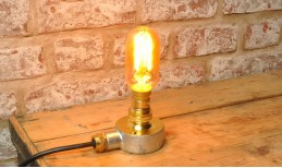 Open Bulb Table Lamp