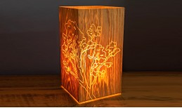 Glo-Grain Table Lamp