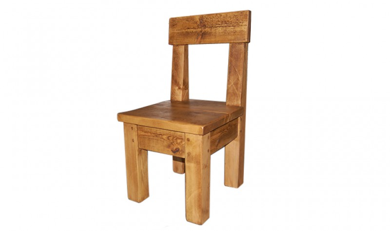Plank Pew Chair (1 available)