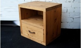 Reclaimed Cube (Chunky) Bedside