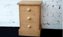 Children's Pure (Natural finish) Bedside