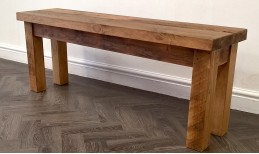 Reclaimed Stockhill Benches and Stools