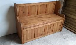 Reclaimed Stockhill Monks Bench