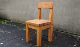 Reclaimed Stockhill Pew Chair