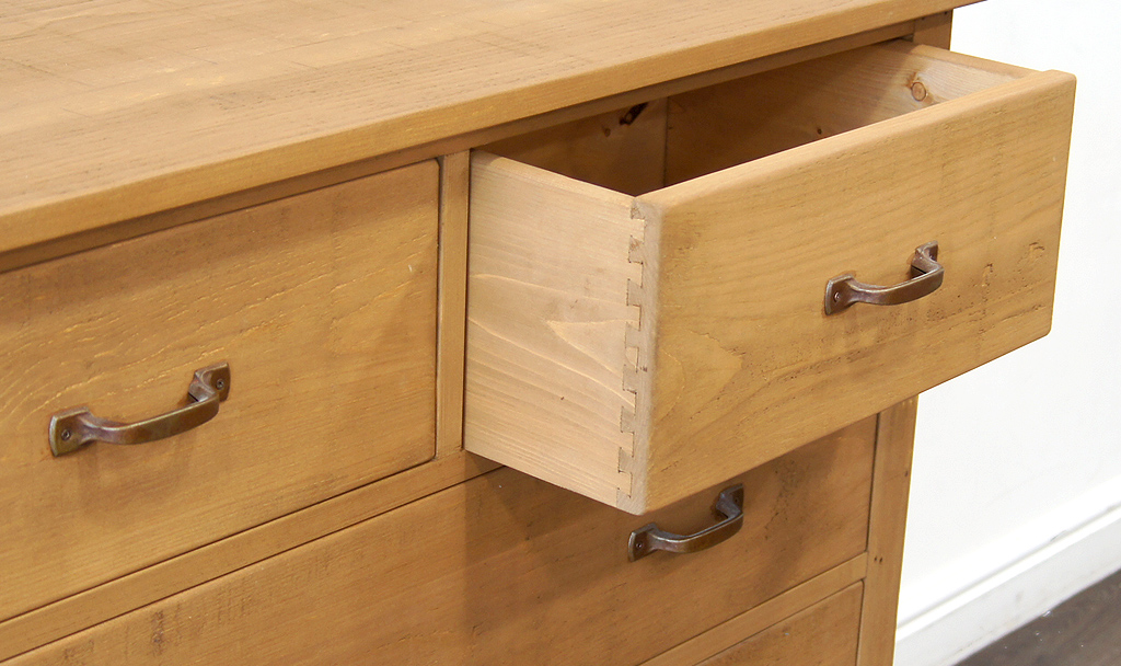 Plank Panel Chest