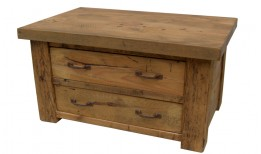 Reclaimed Stockhill 2 Way 2 Draw Coffee Table
