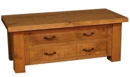 Plank 2 Way 2 Drawer Coffee Table