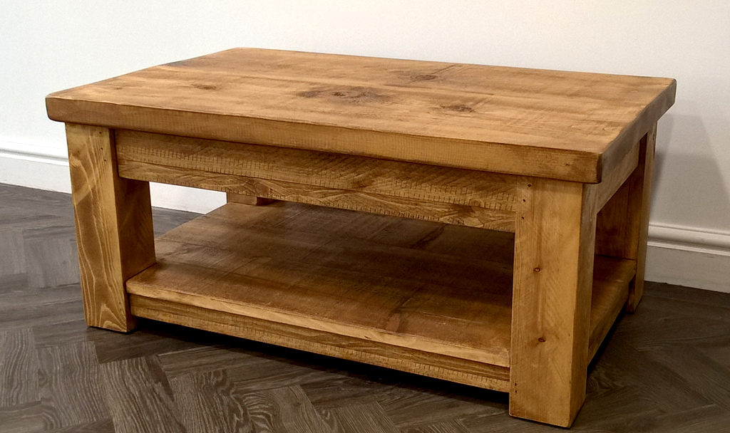 Plank Coffee Table; Plank Coffee Table ...