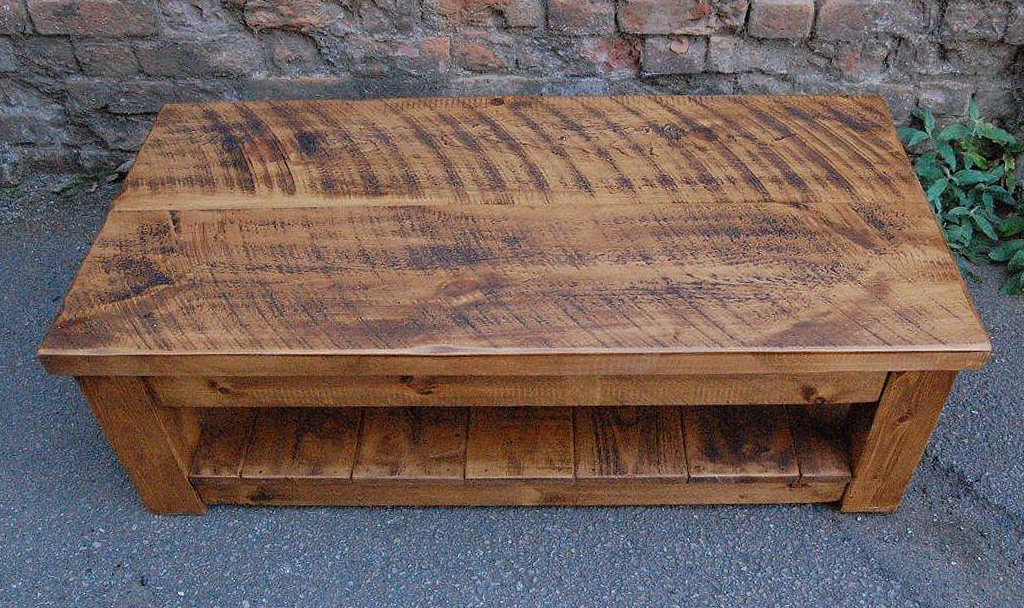 Superbe ... Plank Coffee Table