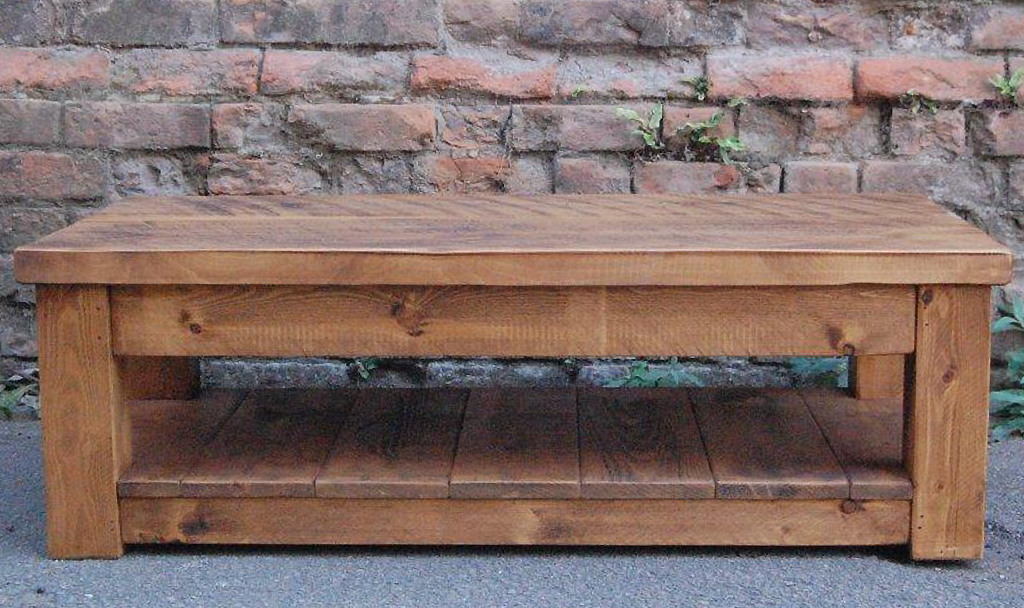 ... Plank Coffee Table ...