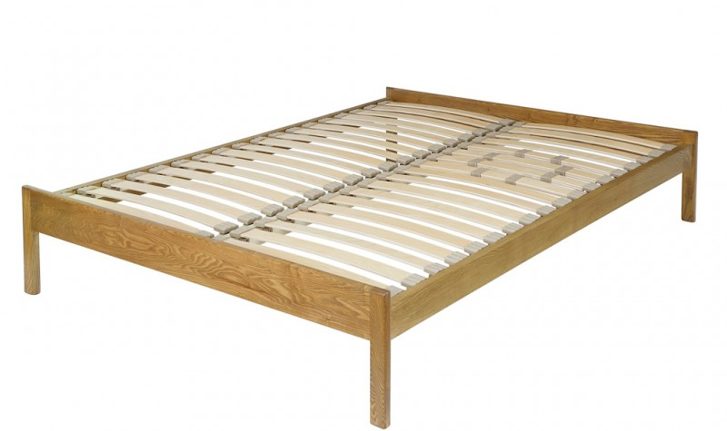 Platform Ash Bed In Solid Ash Or An Oak Stain Finish