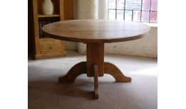 Plank Dining Table (Round)