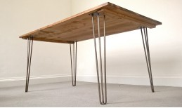 Reclaimed Hairpin Dining Table