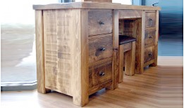 Plank Gate Dressing Table / Desk