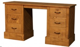 Plank Panel Dressing Table / Desk