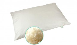 Organic Wool Flat Pillow
