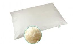 Organic Wool Flat Pillow