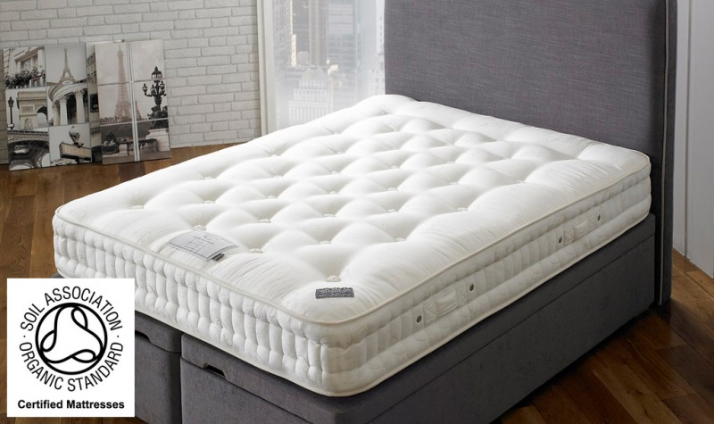 Pure 1500 Pocket Spring Organic Mattress