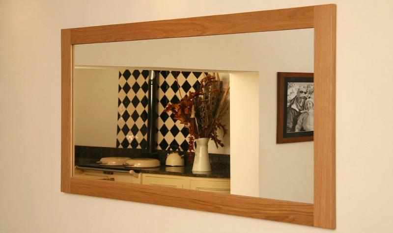 Oak Mirror