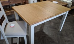 Oak Barley Extending Dining Table