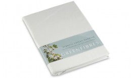 White Percale Organic Cotton Bedding