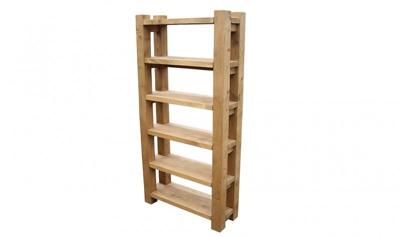 Plank Gate Open Shelves
