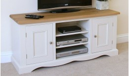 Oak Barley TV Unit