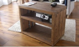 Reclaimed Cube Coffee Table