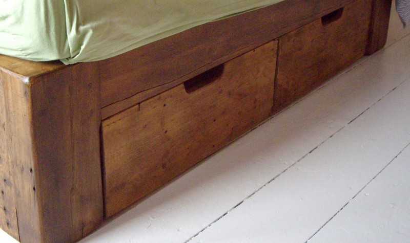 Reclaimed Under Bed Drawers