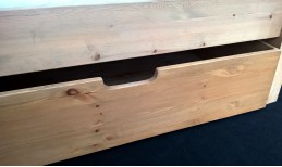 Shaker Pine Under Bed Drawers