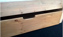 New (Shaker) Pine Under Bed Drawers