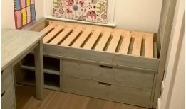 Built in Underbed Storage