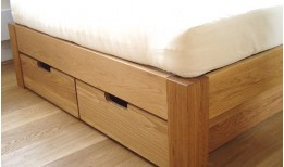 Oak Under Bed Drawers